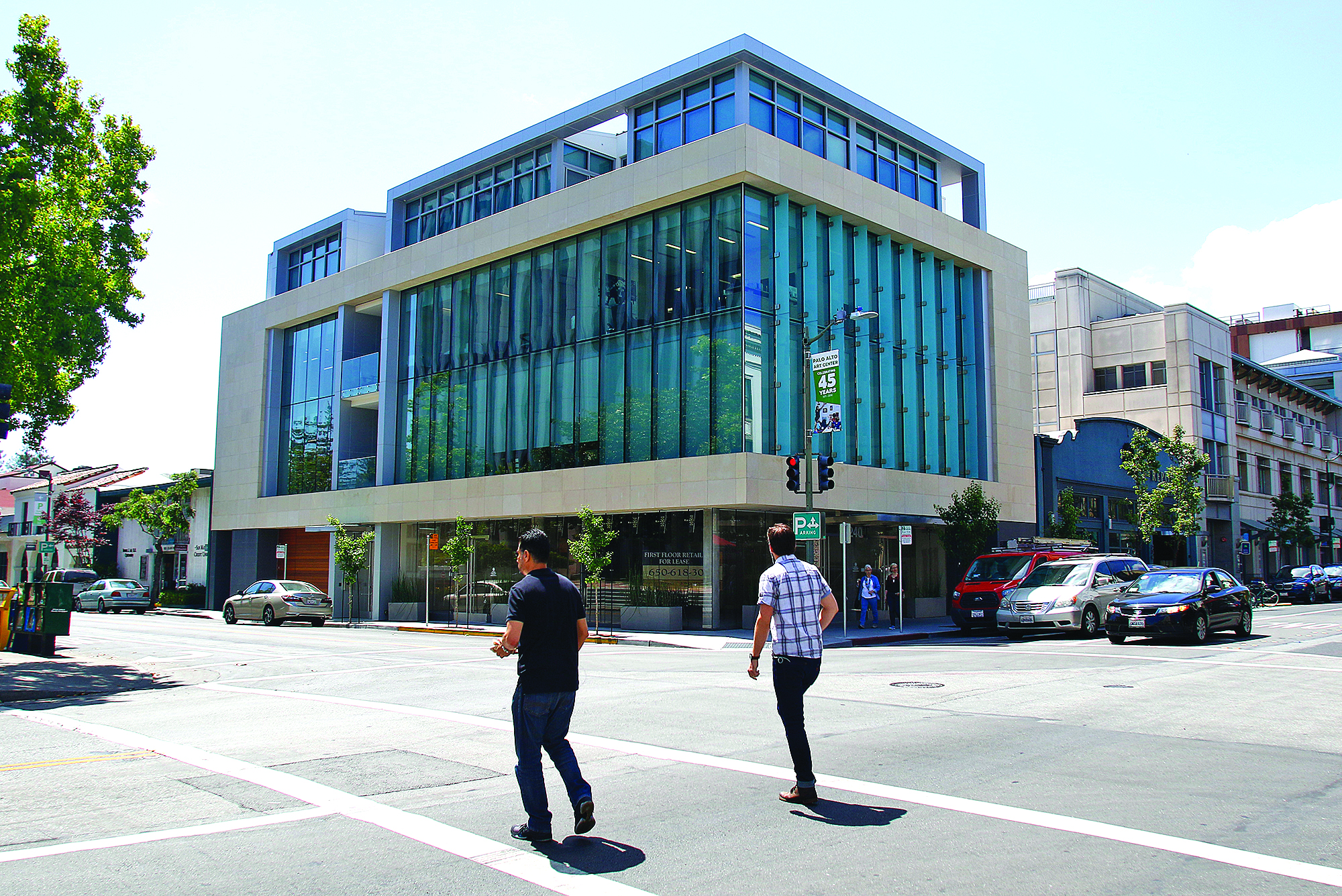 240 Hamilton Ave. is a 15,000-square-foot building in downtown Palo Alto that includes retail, office and residential space.