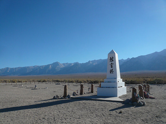 Richard and Ellie Mansfield return to theManzanar National Historic Site in Central California every year to serve as docents. Photo by jericl cat obtained via Wikimedia Commons.