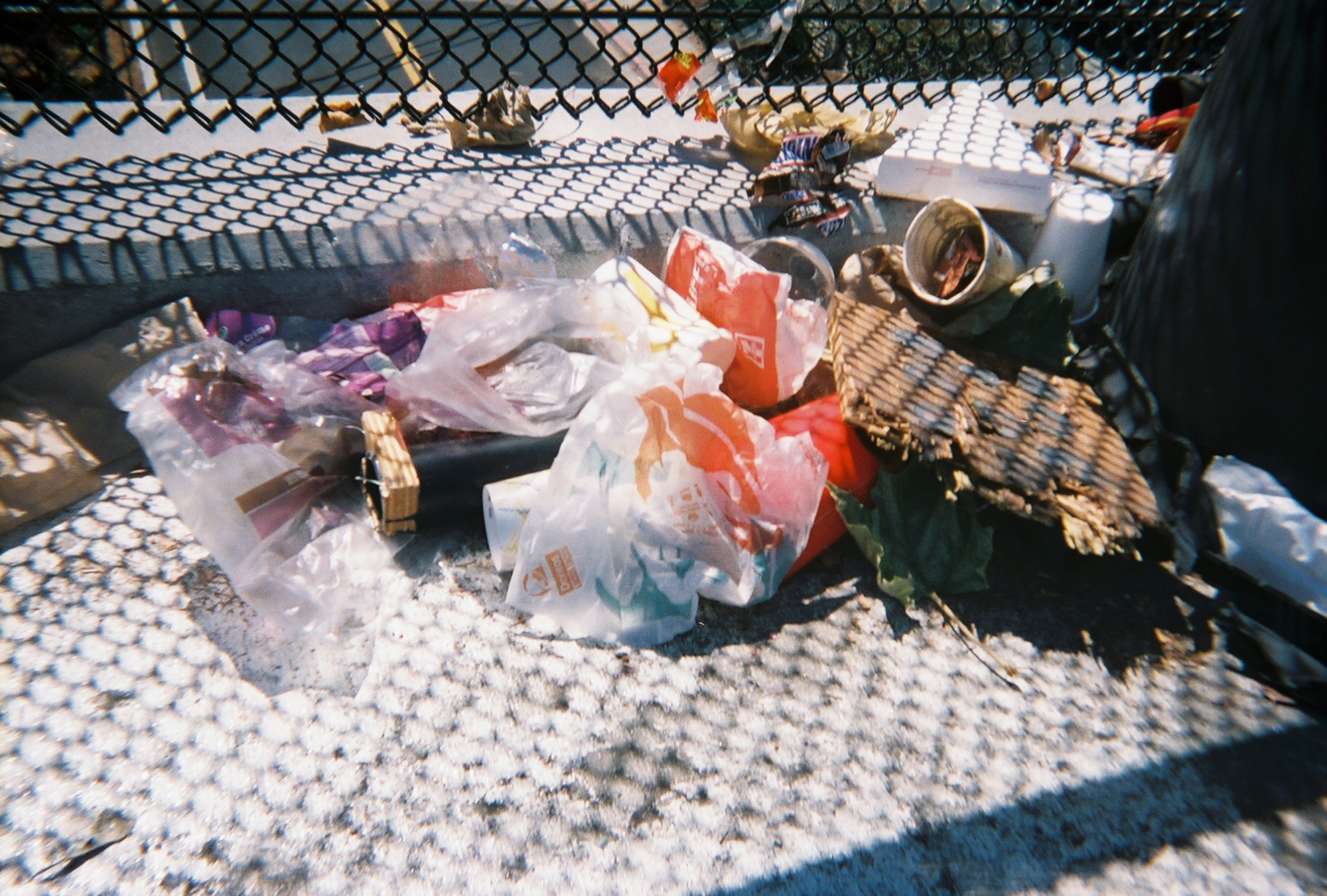 Trash. (Photo courtesy ofSelijah Meacham.)
