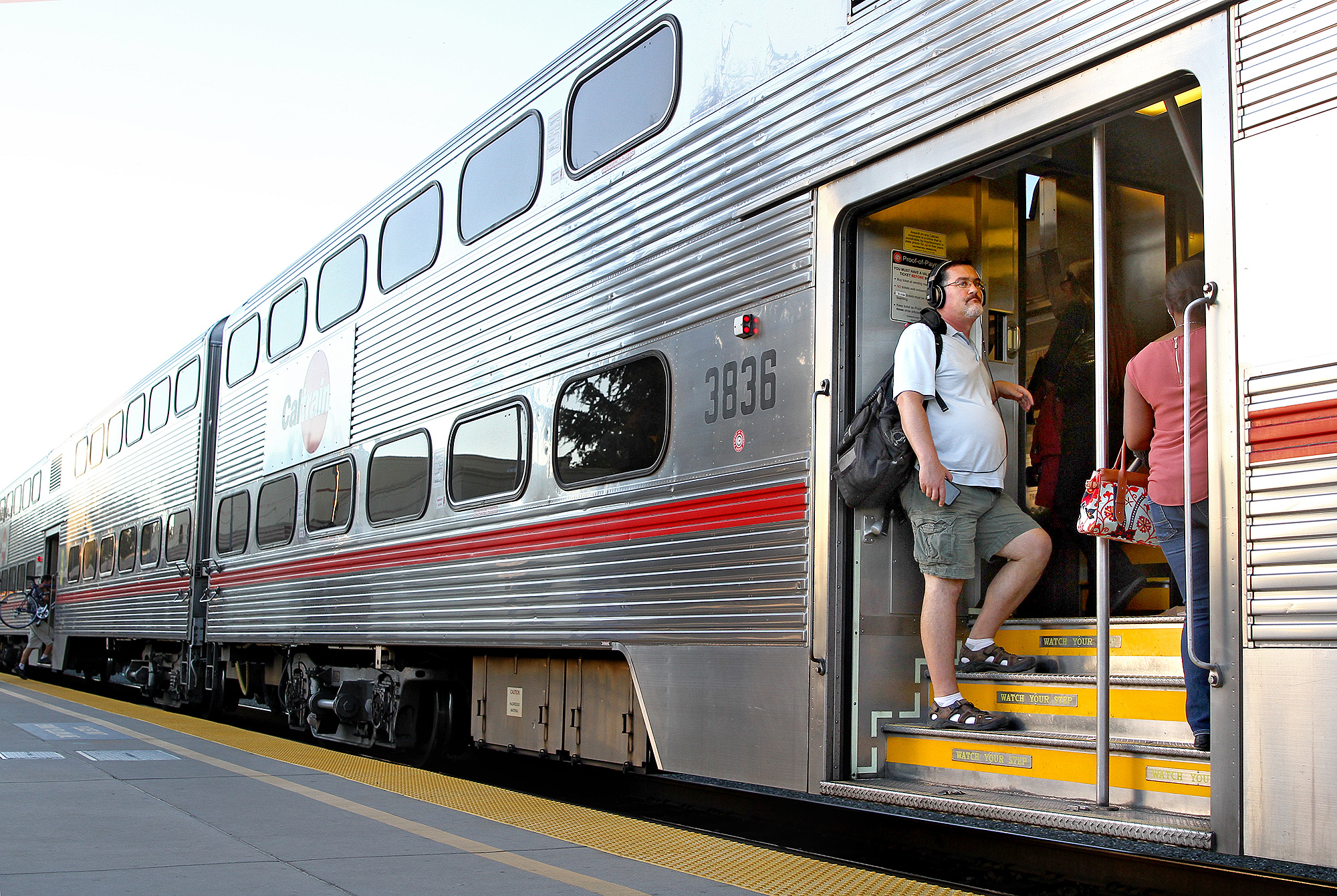 Ridership on Caltrain has increased significantly over the past 10 years.