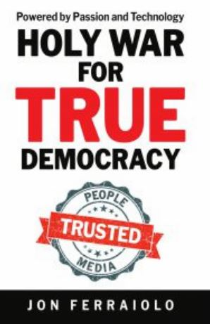 More information about Jon Ferraiolo's project andbook are available throughdemocracyguardians.org. He can be contacted at jon.ferraiolo@democracyguardians.org.