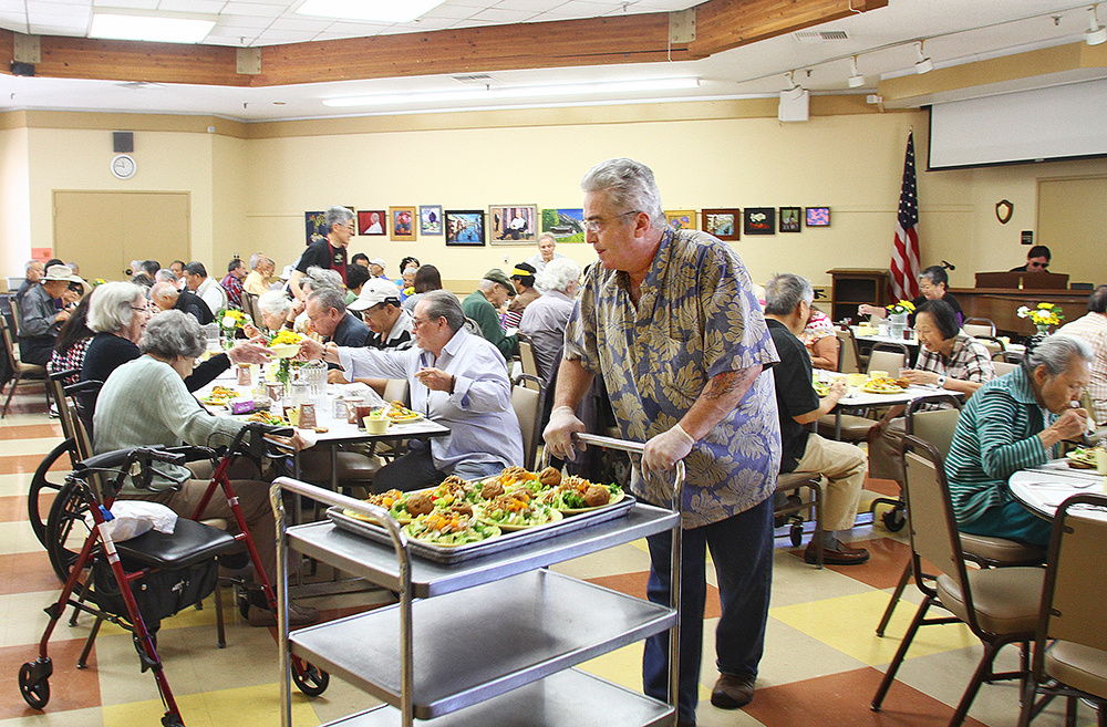 La Comida, a nonprofit that runs a popular nutrition program,reached an agreement to move into Stevenson House after its lease with Avenidas expiredon Aug. 30, 2017. Photo by Veronica Weber.