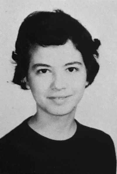 Margarat Williams, 15, seen here in her yearbook photo, lived in Bad Kreuznach, Germany. Both she and John Getreu were children of membres of the U.S. military and attended the same high school. Photo courtesy Evan Williams.