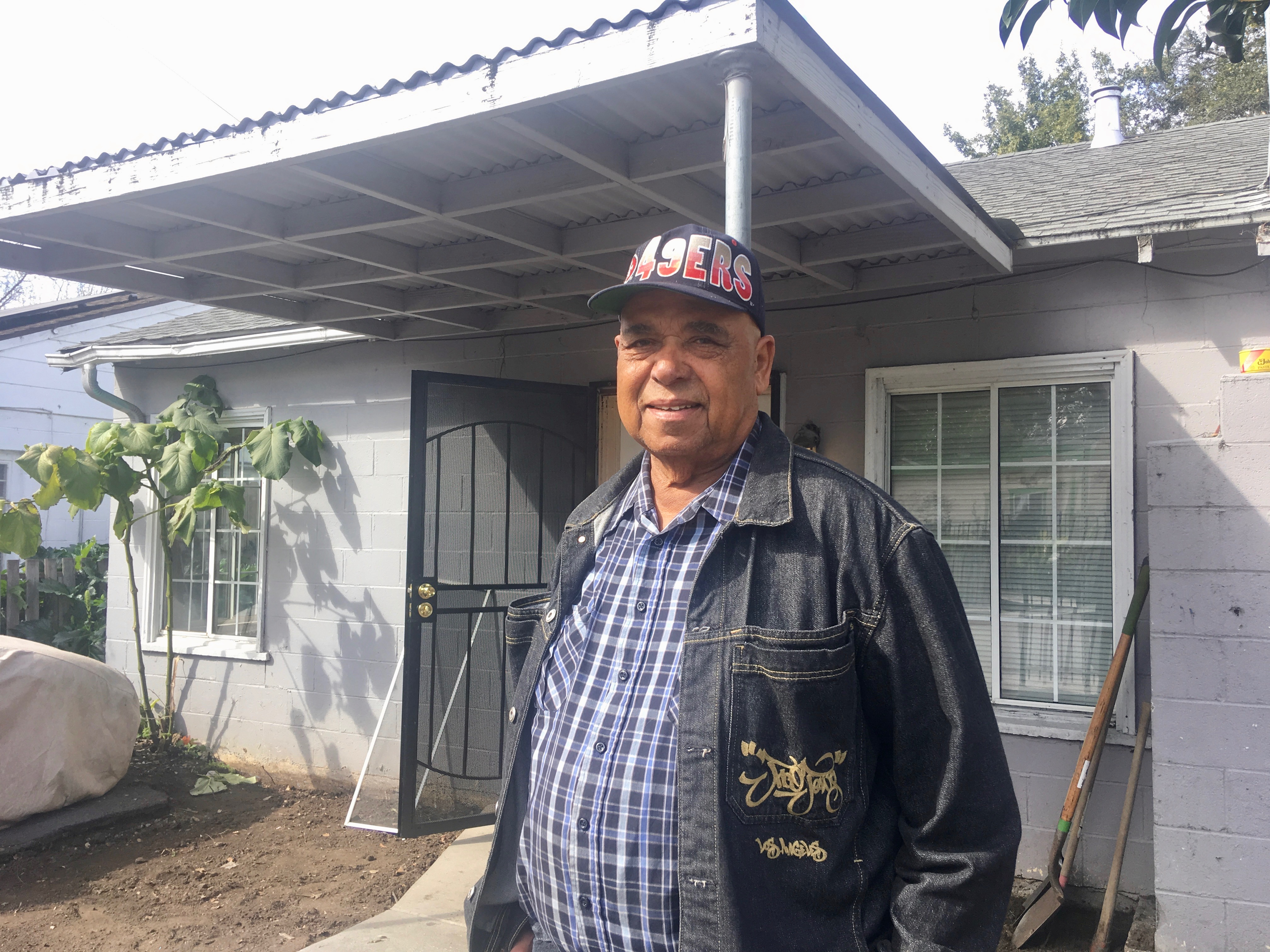 Allen McIntyre, a longtime East Palo Alto resident who now lives in Modesto, says he saw improvements at the water company after Katherine Loudd took over management in the late 1980s, but that he observed that households were charged differently. (Photo by Kate Bradshaw.)