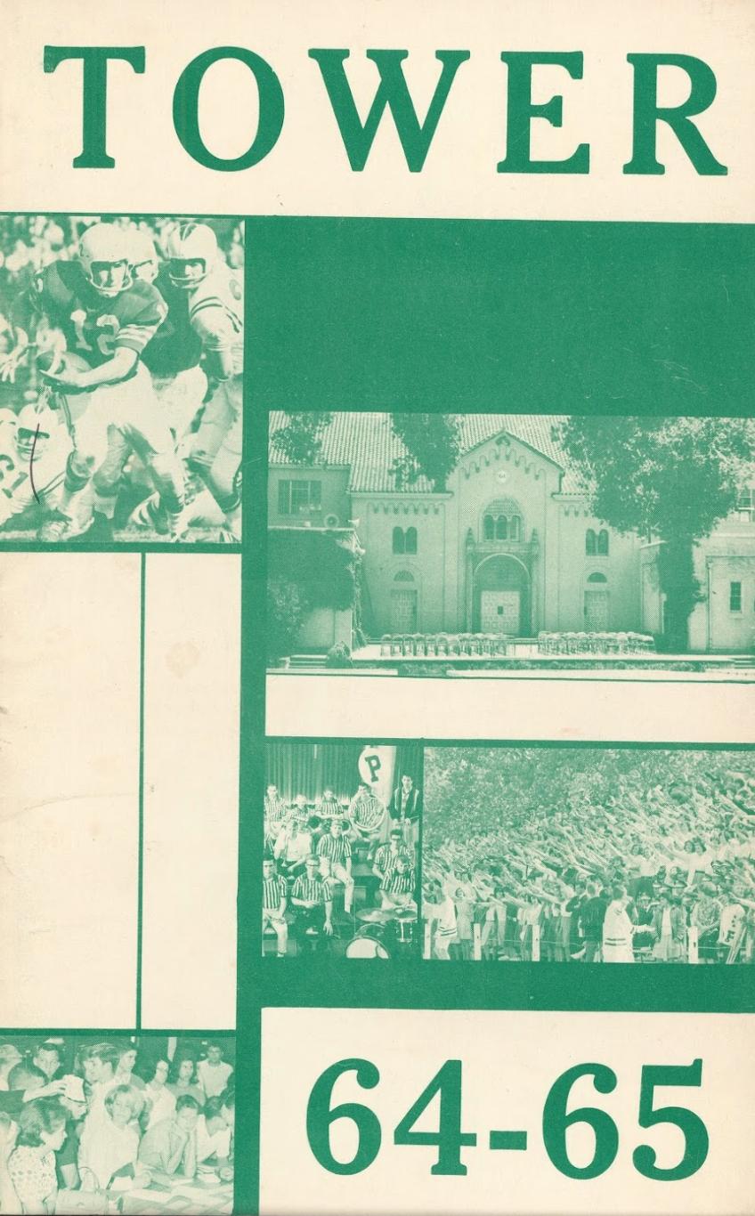 A Palo Alto High School handbook for the 1964-1965 school year. Photo courtesy Rachel Kellerman.