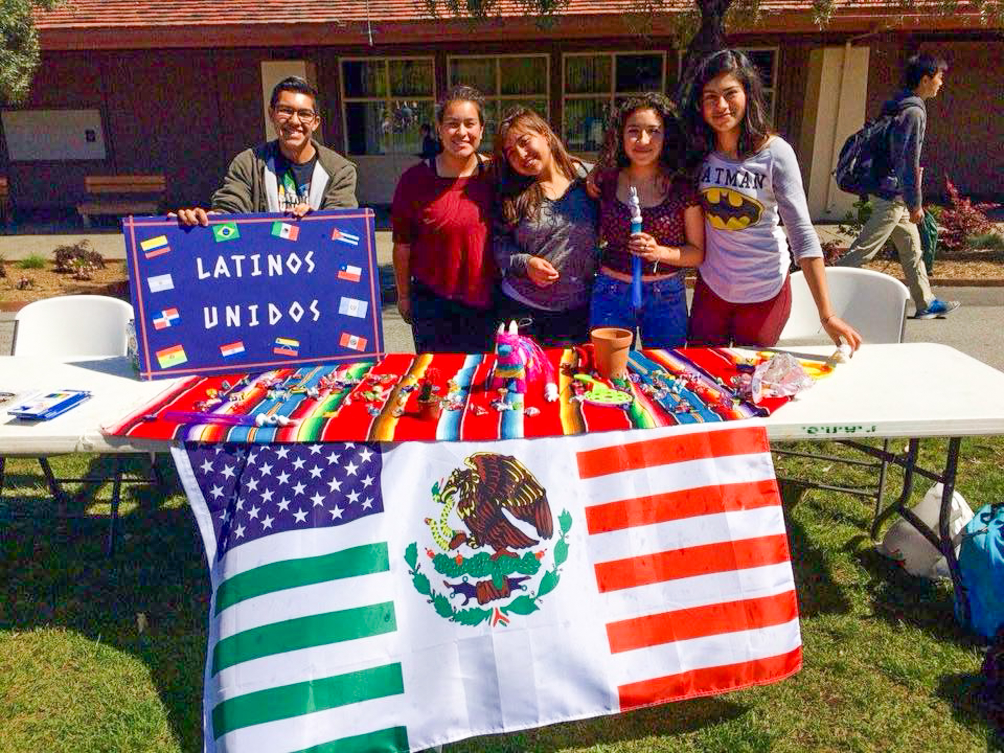 Ricardo Lombera served as president of Palo Alto High School's Latinos Unidos club, where he pushed school administrators to have an altar for Dia de los Muertos during the 2017-18 school year. Photo courtesy Ricardo Lombera.