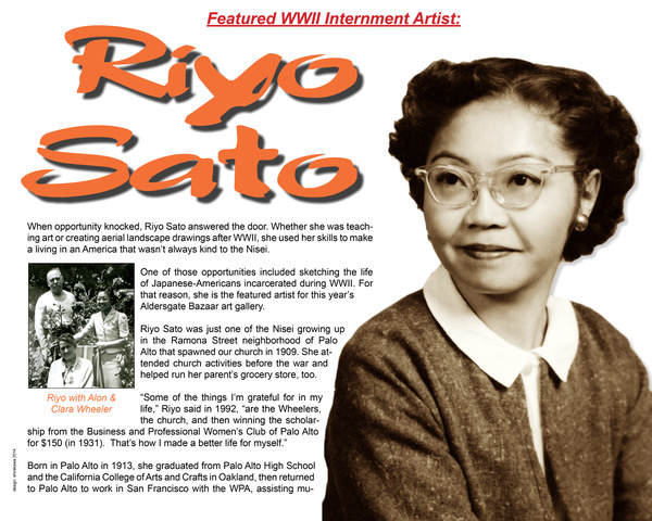 Palo Alto High alumna Riyo Sato found a mentor in educator Stella McKee, whohelped her pursue her passion that led to her 30-year career as an art teacher.Image courtesy Pam Hashimoto.