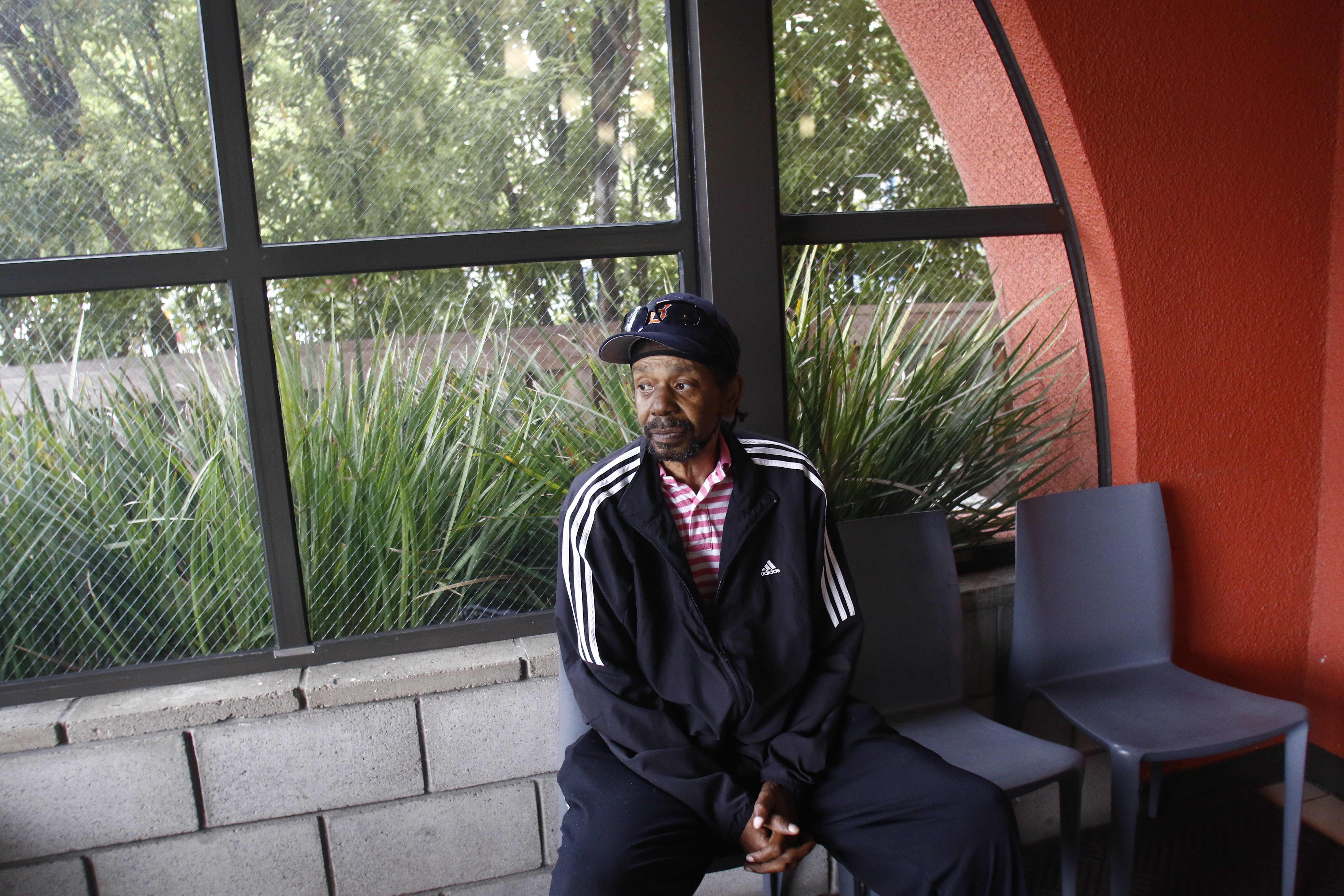 Henry Bostic is a U.S. Air Force veteran.He was homeless for many years while raising his daughter, often staying in temporary shelters. He is on disability and says he's grateful for the Opportunity Center's medical services.